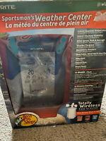 acu rite BASS PRO SHOPS sportsmans wireless weather center   E