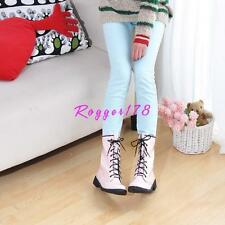 Womens Punk Goth Casual Strappy Military Combat Shinny Faux Leather ANkle Boots