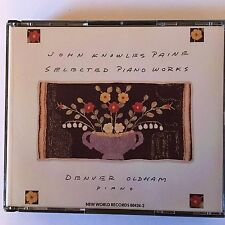 John Knowles Paine - Piano Works - Denver Oldham - 2 CDs.