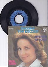 """Johanna von Koczian, Aufsteh'n ist schön, VG+/VG+ 7"""" Single 0956-6"""