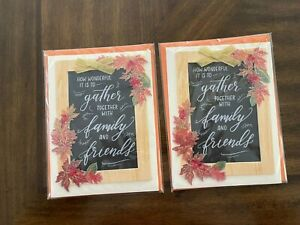 Papyrus Happy Thanksgiving (Lot of 3) Cards - value at $24