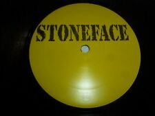 "STONEFACE - UK ?-track 12"" Vinyl Single - DJ Promo"