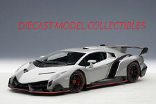 AUTOART 74506 LAMBORGHINI VENENO (GENEVA SHOW CAR 2013/GREY) 1:18TH SCALE