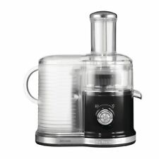 More details for kitchenaid fast centrifugal juicer in onyx black diecast metal & plastic