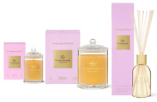25%OFF Glasshouse Tahaa 380g 60g Soy Candle & Diffuser Trio Vanilla & Caramel