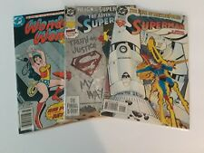 VINTAGE DC Comics Lot 3 Wonder Woman 1976 #229 Superman 1994 #91 1993 #501 Books