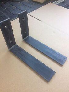 "Heavy Duty Steel Countertop Support L Bracket (1) 6""x12"" combined shipping"