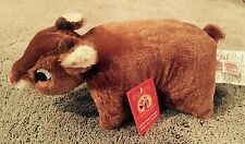 New 50Th Anniversary Rudolph The Red Nosed Reindeer Fold Up Plush Pillow Pet