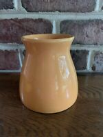 "Edible Arrangements Ceramic Planter Vase 5"" Tall Orange Excellent Halloween Fall"