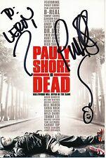 PAULY SHORE AUTOGRAPHED COLOR PHOTOGRAPH w/COA