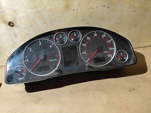 04 Audi A6 C5 Allroad 2.5 TDI V6 Instrument cluster clocks speedo 4b0920981j