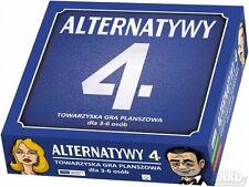 ALTERNATYWY 4  towarzyska gra planszowa POLISH TVP polska ksiegarnia *JBook