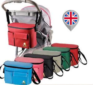 Stroller Baby Nappy Changing Bag Travel Shoulder Diaper Buggy Pram Pushchair S01