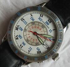 Longines Lindbergh Automatic mens wristwatch steel case 38 mm. in diameter