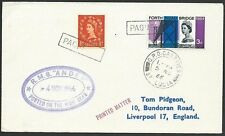ST LUCIA 1966 cover GB franking, PAQUEBOT, RMS Andes ship cachet...........49694