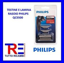 TESTINE E LAMINA RASOIO PHILIPS QC5500