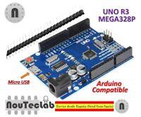 UNO R3 REV3 ATmega328 16U2 CH340 Micro USB 100% Compatible with Arduino