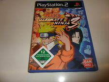 PlayStation 2  PS 2  Naruto - Ultimate Ninja 3