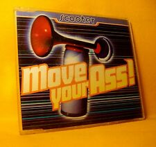 MAXI Single CD Scooter Move Your Ass ! 3TR 1995 Hard Trance, Happy Hardcore