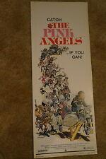 PINK ANGELS  GAY HOMOSEXUAL MOTORCYCLE BIKER GANG  INSERT  1971