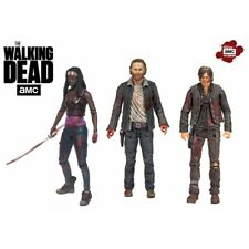 The Walking Dead 14523 Rick Daryl and Michonne TV Hero Figure