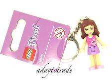 LEGO Friends Minifigure Key Ring - Olivia - 853551 RBB
