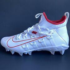 Nike Alpha Huarache 6 Elite Lax White Lacrosse Cleats Bv6692-100 Men's Size 10.5