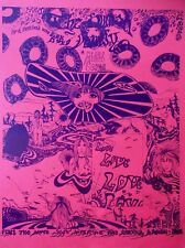 PINK FLOYD AT MIDDLE EARTH, VINTAGE REPRO PSYCHEDELIC POSTER