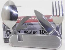 Ridge Runner Fork, Spoon, Can Opener, Camping Hiking Hunting Multi-Tool Knife