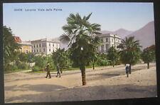 Switzerland~1900's LOCARNO ~Ticino ~ Viale delle Palme