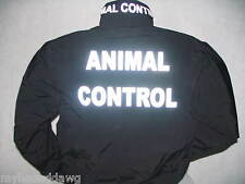 Reflective Animal Control Jacket, Custom Printed Animal Control Jacket, Size, LG