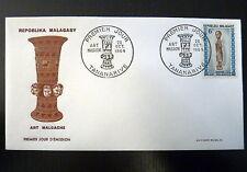 MADAGASCAR  397  PREMIER JOUR FDC     ART , STATUETTE      6F     1964