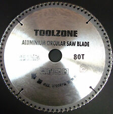 TCT Aluminium Circular Saw Blade 250mm x 30mm x 80T TZ PA028 NEW