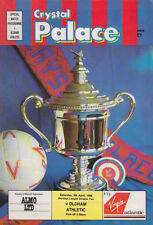 Football Programme>CRYSTAL PALACE v OLDHAM ATHLETIC Apr 1989