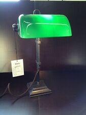 Bankerlampe Berliner Messinglampe W2-99gr A, Ausführung Antik, Neu, ORIGINAL