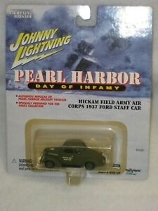 JOHNNY LIGHTNING PEARL HARBOR HICKAM FIELD ARMY AIR CORPS 1937 FORD STAFF CAR