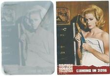 British Horror Collection Printing Plate Preview Card PR17