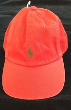 NEW RALPH LAUREN POLO RED BASEBALL STYLE HAT CAP NWT $35
