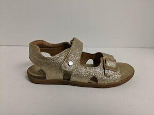 Naturino Steam Glitter Sandal  SS19, Gold, Big Kid Size 1