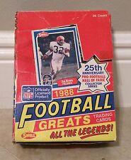 1988 Swell Football Greats Unopened Box 36 Packs