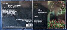 MOZART - DON GIOVANNI - BRUSCANTINI/GHIAUROV/KRAUS - 3 CD n.4103