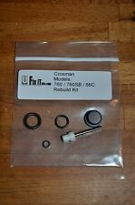 Crosman 66 760 760B Seal O-Ring Kit ( Port Seal, Pump Cup, Stem, Valve Orings )