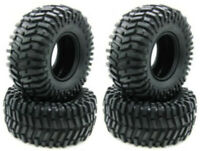"2.2"" Rubber Rock Crawler Tires with Foam 4PCS for RC 1:10 Rock Crawler Car P-004"