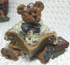 Boyds Bears & Friends, Bearstone Collection, Dean Newbear (#228311), 1998