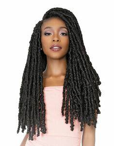 """Janet Collection Nala Tress Synthetic Crochet Braid Hair POETRY LOCS 24"""""""