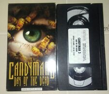 CANDYMAN 3 DAY OF THE DEAD ON VHS RARE (SPANISH SUBTITLES) EXCELLENT CONDITION