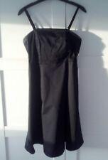Gap black strappy ot stapless dress size 6