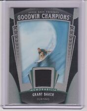 """SWEET 2015 UPPER DECK GOODWIN CHAMPIONS GRANT """"TWIGGY"""" BAKER SURFING RELIC CARD"""