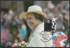 GB 2006 80th Birthday of Queen Elizabeth II 1st class stamp SG 2622 maxi card