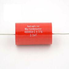 Lote de 10 Condensador Panasonic ECQ-V1H105JL3 película plástica 1uF 5/% 50 V radial NOS